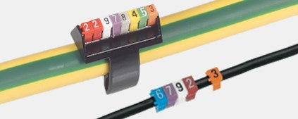 Cable marking systems and accessories
