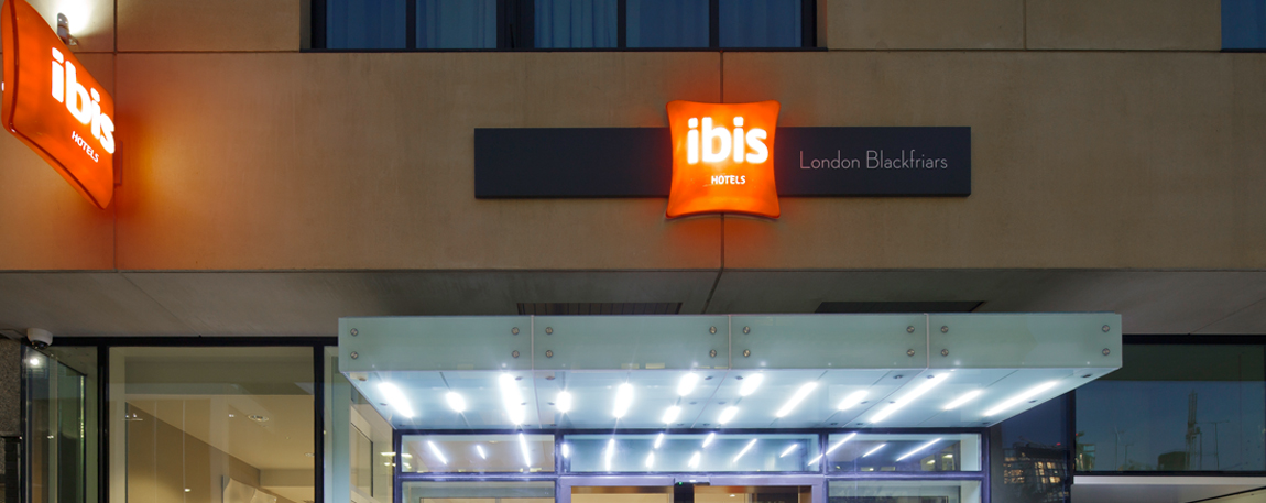 ACCOR HOTEL GROUP, IBIS AND NOVOTEL, BLACKFRIARS LONDON