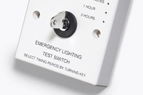 Emergency test switches