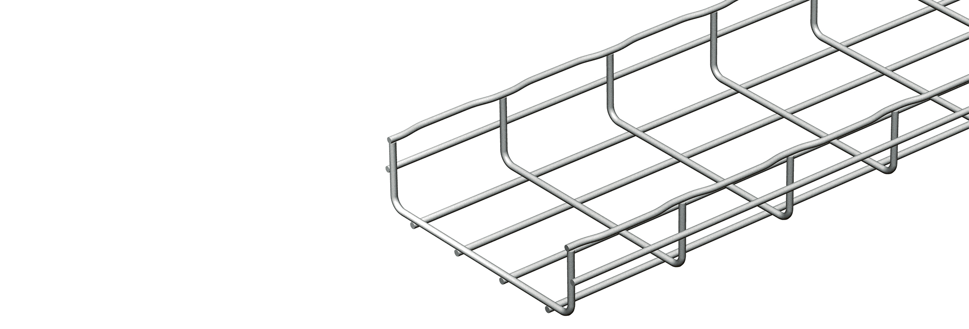 Cablofil steel wire cable tray introduces zinc aluminium alloy range